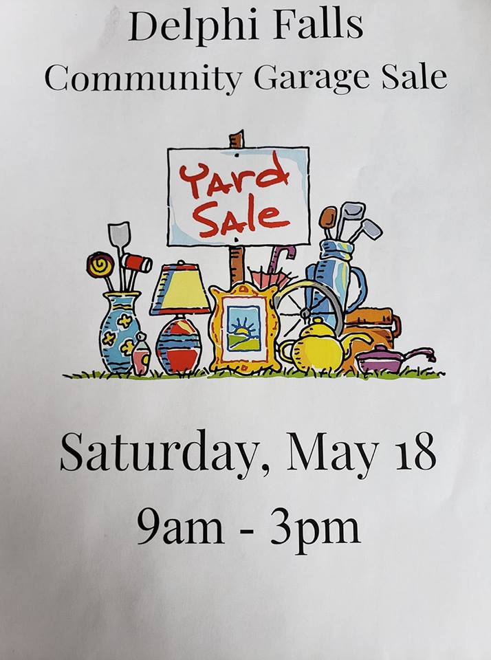 Community Garage Sale - Delphi Falls United Church