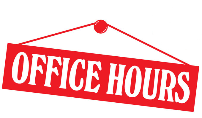 Church Office Hours - Delphi Falls United Church
